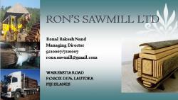 Ron's Sawmill Ltd